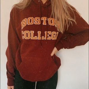 Boston Collage Champion Hoodie!